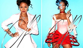 Rihanna, 'CR Fashion Book' İçin Poz Verdi