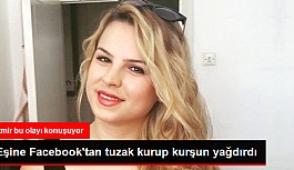 Eşine Facebook'tan...