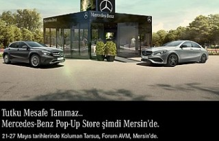 Mercedes - Benz Pop-Up Store Mersin'de
