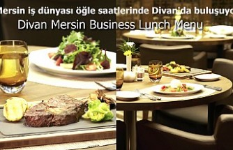Divan Mersin Business Lunch Menu